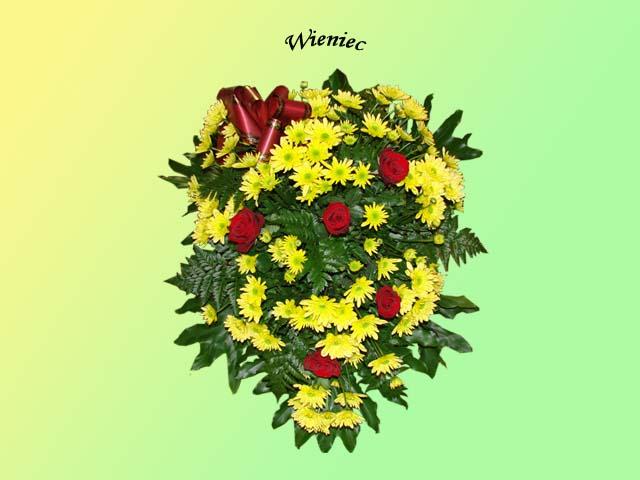 Kwiaty i wieńce na grób 10 - Zakład Pogrzebowy Anioł