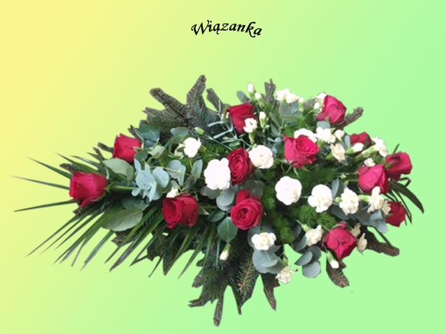 Kwiaty i wieńce na grób 15 - Zakład Pogrzebowy Anioł
