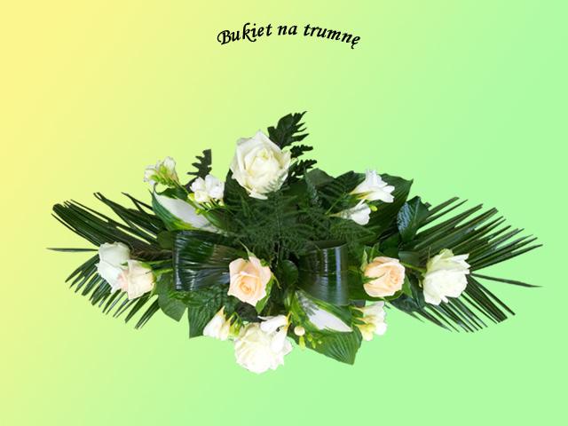 Kwiaty i wieńce na grób 1 - Zakład Pogrzebowy Anioł