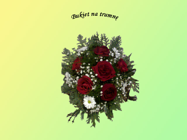 Kwiaty i wieńce na grób 5 - Zakład Pogrzebowy Anioł