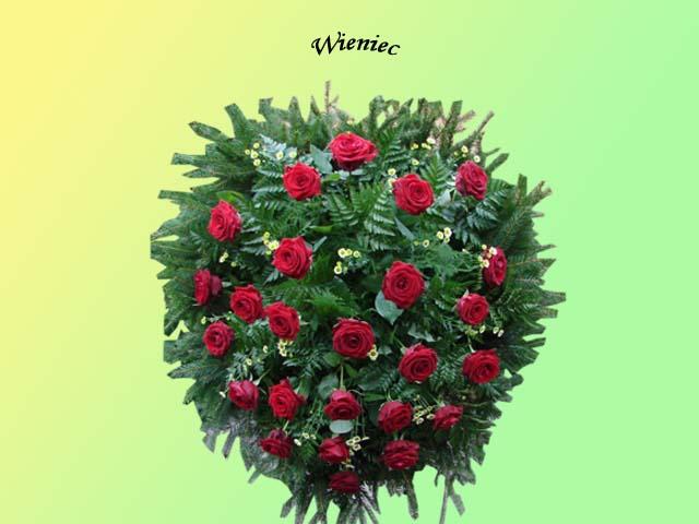 Kwiaty i wieńce na grób 9 - Zakład Pogrzebowy Anioł