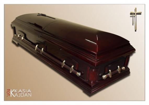 Trumny i urny 14 - Zakład Pogrzebowy Anioł