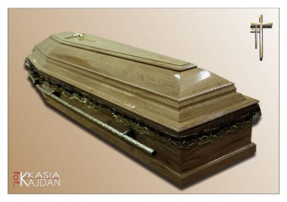 Trumny i urny 16 - Zakład Pogrzebowy Anioł