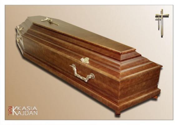Trumny i urny 19 - Zakład Pogrzebowy Anioł