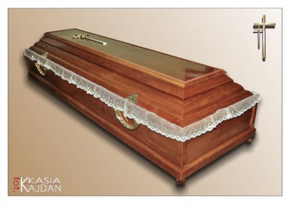Trumny i urny 1 - Zakład Pogrzebowy Anioł