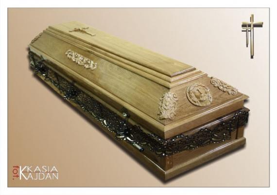 Trumny i urny 2 - Zakład Pogrzebowy Anioł