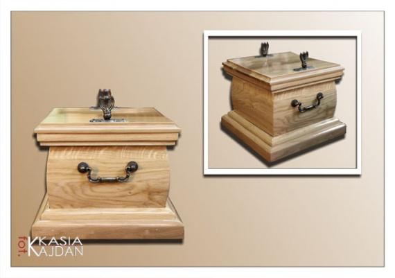 Trumny i urny 5 - Zakład Pogrzebowy Anioł