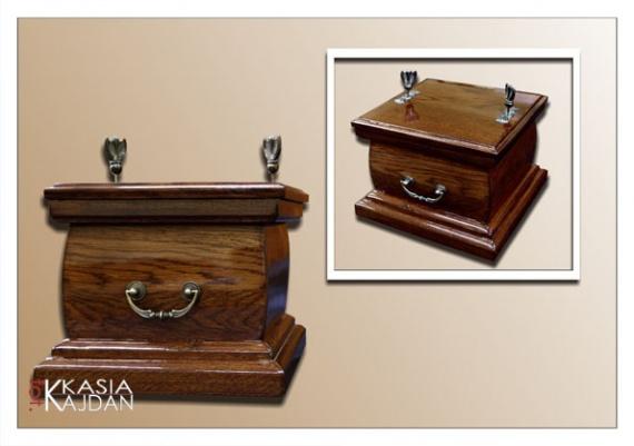 Trumny i urny 6 - Zakład Pogrzebowy Anioł