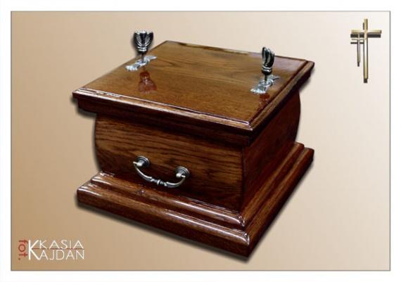 Trumny i urny 9 - Zakład Pogrzebowy Anioł